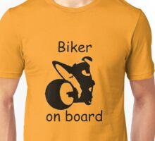 Biker on board 3 Unisex T-Shirt