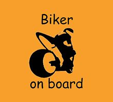 Biker on board 3 Unisex T-Shirt