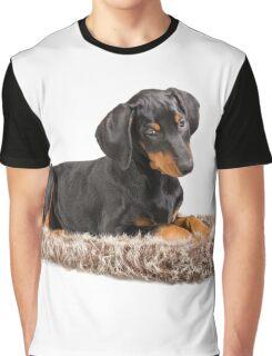cute doberman pinscher puppy Graphic T-Shirt