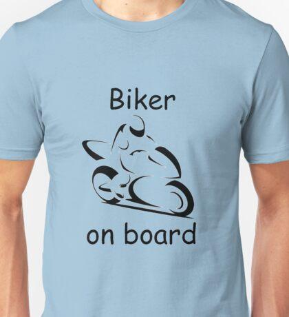 Biker on board 2 Unisex T-Shirt