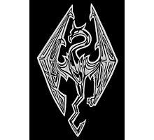 Dragon Of Skyrim (The Elder Scrolls) Photographic Print