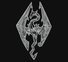 Dragon Of Skyrim (The Elder Scrolls) by wallnutbiscuit
