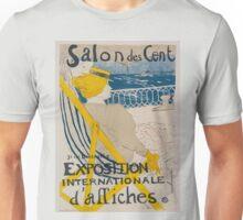 Vintage poster - Salon des Cent Unisex T-Shirt