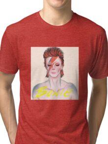 Bow¡e. By Ane Teruel Tri-blend T-Shirt