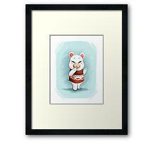 ACNL Flurry the Hamster Framed Print