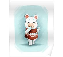 ACNL Flurry the Hamster Poster