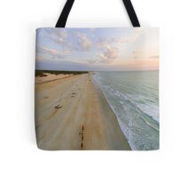cable beach areal  Tote Bag
