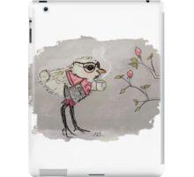 Bird with Coffee iPad Case/Skin
