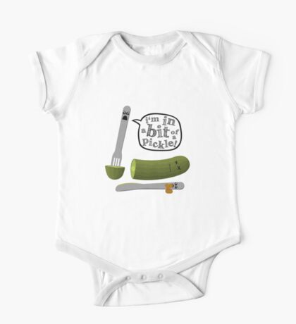Don't play with dead pickles One Piece - Short Sleeve