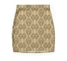 Victorian Fabric Pattern Mini Skirt
