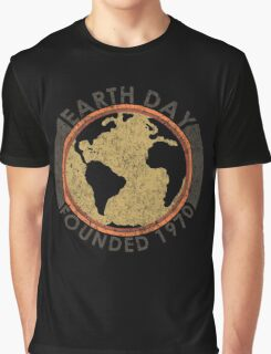 Earth Day: Old School Graphic T-Shirt