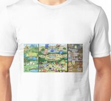 The Mallow Garden of Earthly Delights Unisex T-Shirt