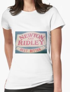 Newton and Ridley sign, Rovers return, Coronation street. Womens Fitted T-Shirt