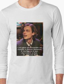 Dr. Spencer Reid 1 Long Sleeve T-Shirt