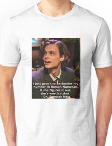 Dr. Spencer Reid 1 Unisex T-Shirt