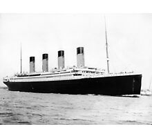 Titanic Photographic Print