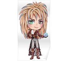 David Bowie - Chibi Labyrinth Goblin King Poster