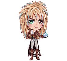 David Bowie - Chibi Labyrinth Goblin King Photographic Print