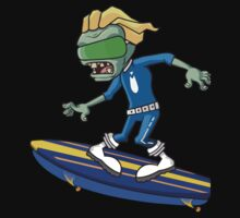 Plants vs Zombies - Space Surfear Baby Tee