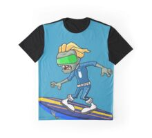 Plants vs Zombies - Space Surfear Graphic T-Shirt