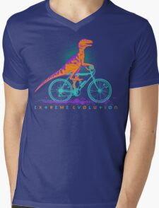 EXTREME EVOLUTION... the bicycle Mens V-Neck T-Shirt