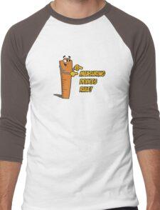 Measuring Devices Rule! Men's Baseball ¾ T-Shirt
