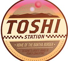 Toshi / Tosche Station Patch - Tatooine - Star Wars by TrendSpotter