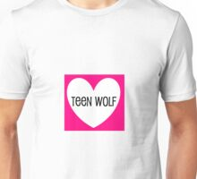 Be My Teen Wolf Valentine Unisex T-Shirt