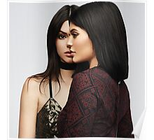 Kendall Jenner and Kylie Jenner - Side by Side Poster