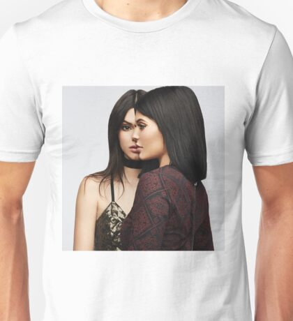 Kendall Jenner and Kylie Jenner - Side by Side Unisex T-Shirt