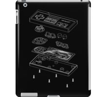 NES: Just the Guts (white) iPad Case/Skin