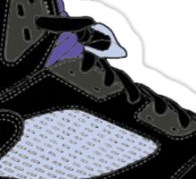 "Air Jordan V (5) ""Black Grape"" Sticker"