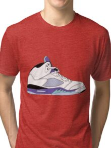 "Air Jordan V (5) ""White Grape"" Tri-blend T-Shirt"