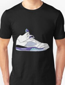 "Air Jordan V (5) ""White Grape"" Unisex T-Shirt"