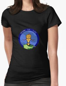 RETURN THE SLAB Womens Fitted T-Shirt