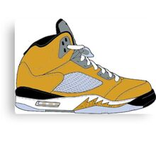 "Air Jordan V (5) ""Tokyo"" Canvas Print"