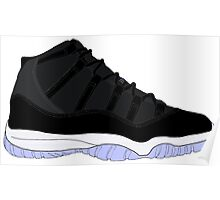 "Air Jordan XI (11) ""Space Jam"" Poster"