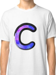 Watercolor - C - purple Classic T-Shirt