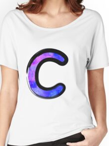 Watercolor - C - purple Women's Relaxed Fit T-Shirt