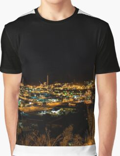 Mount Isa Night Graphic T-Shirt