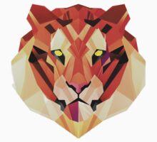 Minimalist Lion Face  One Piece - Long Sleeve