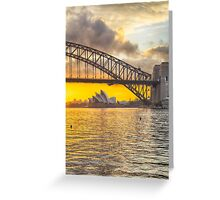 Under the Bridge_Sydney Greeting Card