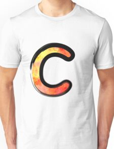 Watercolor - C - orange Unisex T-Shirt