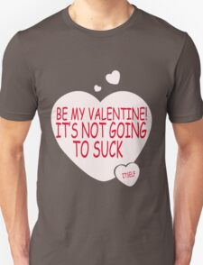 Be MY Valentine funny nerd geek geeky T-Shirt