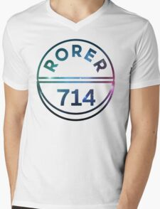 RORER 714 Mens V-Neck T-Shirt