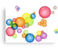 Bubble Theory Canvas Print