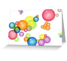 Bubble Theory Greeting Card