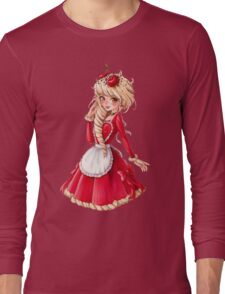 Red Velvet Cake - original character Long Sleeve T-Shirt