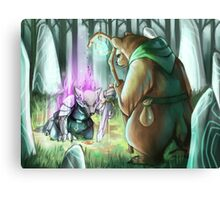Cleansing Wyld Canvas Print