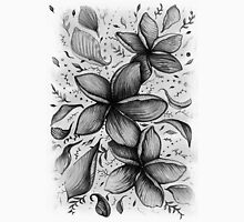 floating frangipani love Unisex T-Shirt
